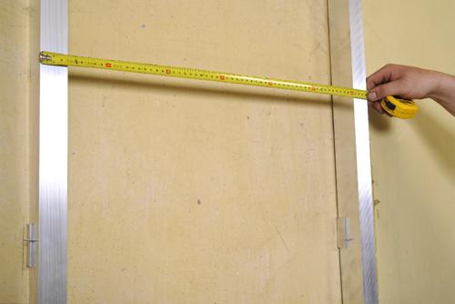 6. Należy przestrzegać określonych odległości między elementami podkonstrukcji